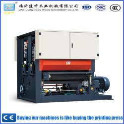 Il doppio della macchina per la lavorazione del legno della Cina Qingdao ha parteggiato sabbiatrice larga della cinghia del compensato