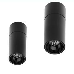 内蔵丸型黒 15W LED 表面実装ダウンライト
