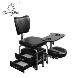Black Luxury Salon SPA Massage Pedicure stoel