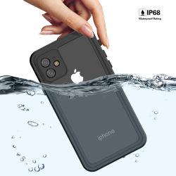 IP personalizada68 Silicone inquebrável universal plástico Celular impermeável à prova caso telefone para iPhone Samsung Mobile Galaxy