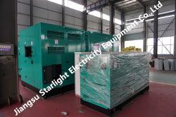 Insonorisées Ricardo 250kw générateurs de groupe électrogène diesel 1500tr/min