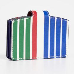 De façon colorée unisexe Mini-carte Snap Coin d'élargir le portefeuille