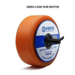 Haute puissance 6.5inch 48V 500W 22n. M 1024 sur le fil électrique du moyeu de roue de moteur sans balai pour l'AGV Voiture