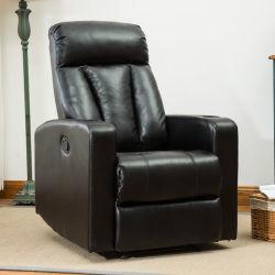 La salle de séjour Meubles en cuir au design moderne fonctionnel canapé d'inclinaison manuelle