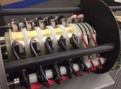 100A контактные кольца для высокой мощности с ISO на заводе