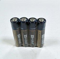 Zinc-carbono R03P batería AAA