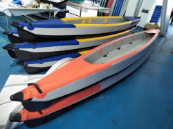 Dos persona Drop Stitch kayak inflable