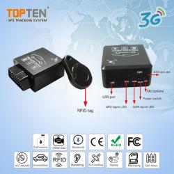 2G e 3G de Rastreamento por GPS com OBD pare o motor, RFID arme/desarme automático (TK228-KH)
