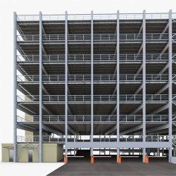 História de vários veículos de Estacionamento Garagem com estrutura de aço