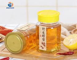 Hot vendent en gros 375ml 12,5 oz Bottlle miel octogonale de verre