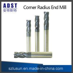 Moinho de ponta de carboneto de sólidos das ferramentas de corte CNC fresa