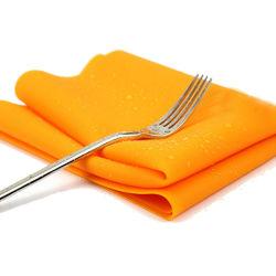 Stuoia facile di cottura del silicone della stuoia della Tabella pranzante di pulizia del rilievo del ristorante