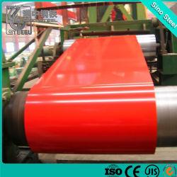 Cglcc Grade pour l'acier galvanisé prélaqué bobine matériau HAVC