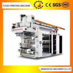 De Machine van de Druk van Flexo van zes Kleur met Geavanceerd technisch