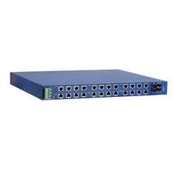 Mx24 серии 16 и 24 портами для монтажа в стойку неуправляемые коммутаторы Ethernet промышленные коммутаторы Ethernet