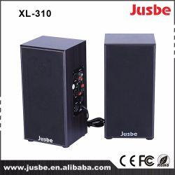 Jusbe XL-310 25W Active 2.0 Moniteur de bureau multimédia Haut-parleur Wholeasle Prix moins cher Système de son de classe