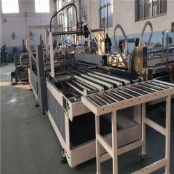 Automatische Faltblatt Gluer Hochgeschwindigkeitsmaschine für Karton-Kasten