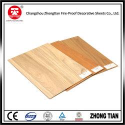 Laminato di legno di alta pressione del grano HPL/