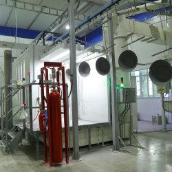 가구 기계설비를 위한 정전기 자동적인 분말 코팅 살포 부스