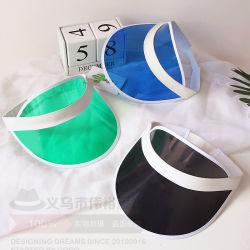 Pare-soleil en plastique PVC à bon marché Cap Hat