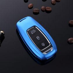 Ключ автомобиля случае крышку оболочки при ключе зажигания в цепи электродвигателя Hyundai Premium алюминия пульта дистанционного управления дела
