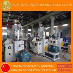 Le plastique PE/PP/PPR/PEHD/LDPE& canalisation électrique de l'eau/Tube (l'extrudeuse, transporter hors tension, la coupe de bobinage, belling)/d'EXTRUSION Extrusion rendant la production de la machine de ligne