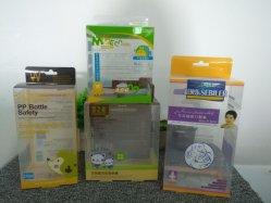 De concurrerende Doos die van de Verpakking van de Fabrikant PVC/PP/PET van China Plastic (doos vouwen)