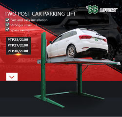 Mini-Deck 2 Vertical 2 hidráulicos de elevação de Estacionamento De Post