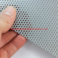 Aluminio anticorrosivo de malla perforada agujero perforado utilizado para la seguridad de la puerta de la pantalla de aluminio