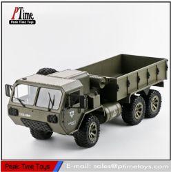 2.4G 6wd Coche RC camión militar Moutable con HD cámara WiFi