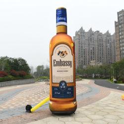 カスタマイズされた広告文字表示インフテーブル・ビール・ボトル・モデル