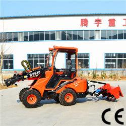 Tracteur de jardin avec chargeur frontal Dy840 de la Chine tondeuse à gazon tracteur chargeur avant