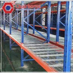 Almacenamiento de Plástico aluminio fábrica un cuarto frío congelador Rack