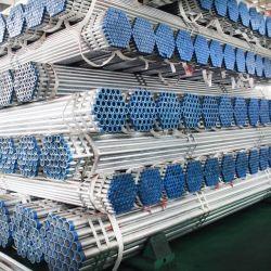 Строительных материалов ASTM A53 расписание 40 оцинкованной стали труба, Gi стальные трубы Zn покрытие 60-400г/м2 с высоким качеством