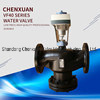 A válvula de água eléctrica Vf40 Válvula Termostática Válvula Redutora de Pressão de vapor da Válvula de Controle de Pressão