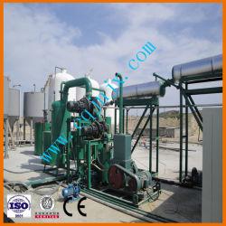 Reciclagem do óleo mineral Black Machine Company