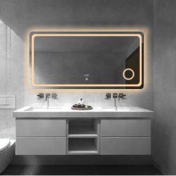Chaud rétroéclairé par LED Vintage lumineux miroir de maquillage avec éclairage