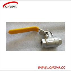 1000wog из нержавеющей стали из двух частей из трех частей шаровые клапаны с резьбой