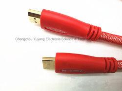 Spina di HDMI da tappare per l'alta velocità, 3D e 4k, cavo di nylon