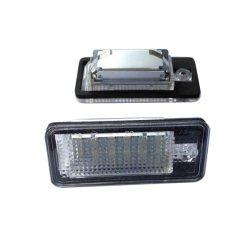 Индикатор Dahosun номер лицензии фонаря освещения номерного знака для Audi Q7/A3/A4/A6/A8/S3/S4/S6/S8 Корпус черного цвета