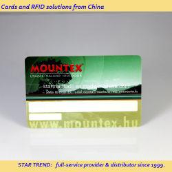 高品質印刷機能を備えたクレジットカードサイズの RFID アクセスカード