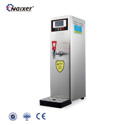 dispensador de agua caliente instantáneo té comercial caldera de agua de LCD