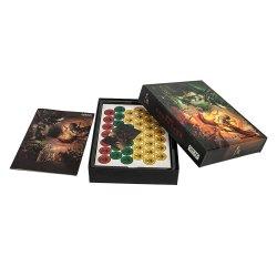 Il rifornimento della fabbrica facile trasportare il gioco da tavolo ha personalizzato le schede del gioco da tavolo stampate colore