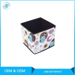 収納用の箱かファブリックFoldableバスケットの立方体のオルガナイザーボックス容器の引出し