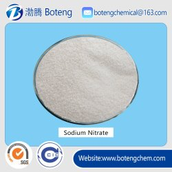 99,3 % de granules de Nano3 Sel de sodium Nitrate pour engrais
