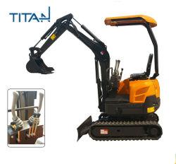 China Barato preço 0.8-2ton escavadora de rastos Pequenas Máquinas de Escavadeiras Mecânicas