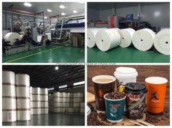 На заводе оптовая торговля печатной бумаги в рулон с различной емкости на чашку бумаги в мастерской