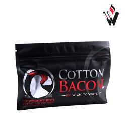Bacon Algodão original para o RDA BRICOLAGE Rba vaporizadores e cigarro