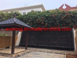 Noir/Rusty/jaune/vert/rose/blanc/couleur de la culture de l'Ardoise pour multiples revêtement mural/décoration de jardin/toiture Z forme/matériaux de construction