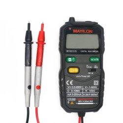デジタル電圧計電流計 AC DC 電圧抵抗テスター自動マルチメータ